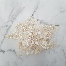 Adele Pearl Headpiece - Victoria Jane Millinery