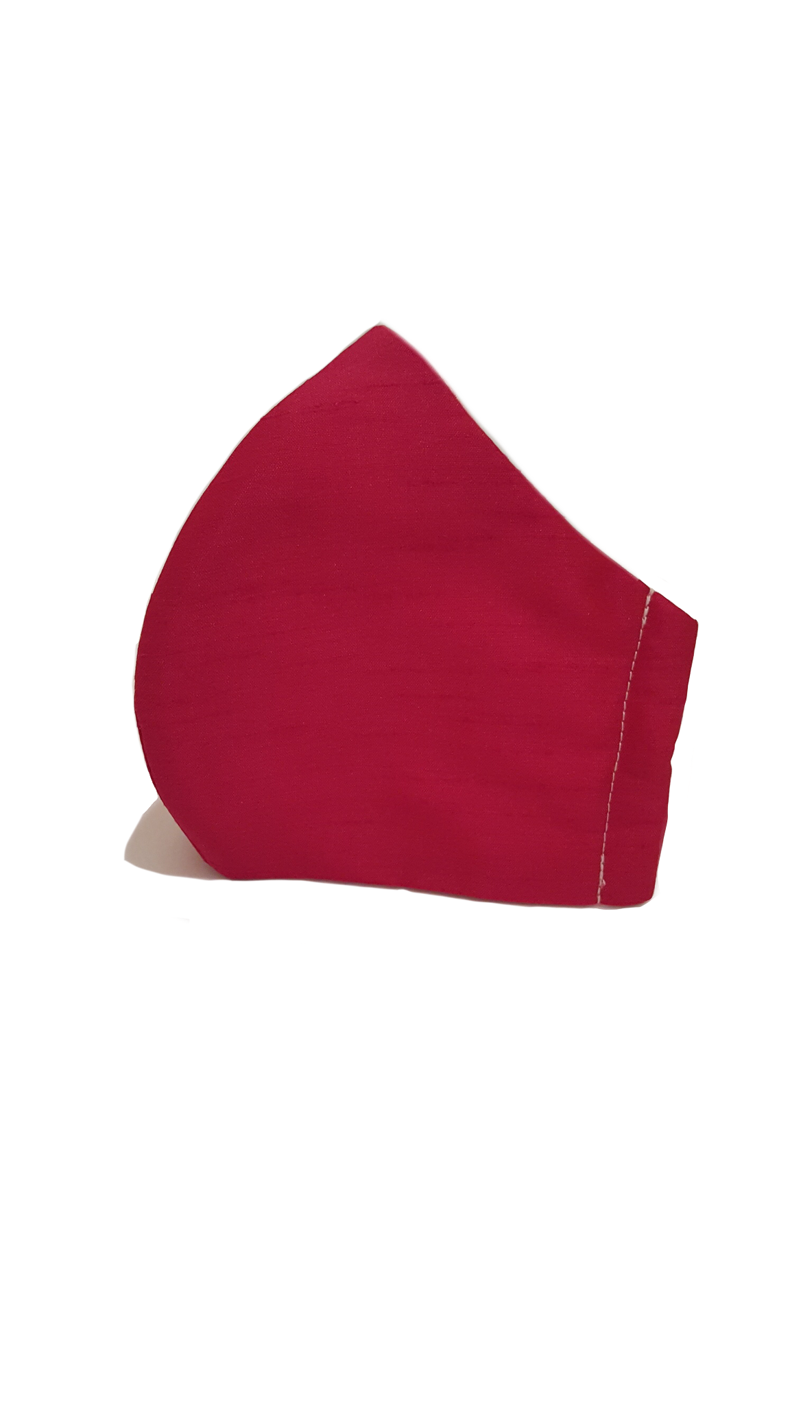 LIMITED Silk Dupion Face Mask - Fuchsia