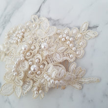 Adele Pearl Bridal Headpiece - Victoria Jane Millinery