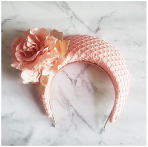Blossom Halo - Pink and Rose Gold - Victoria Jane Millinery
