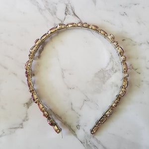Jade - Pink Jewel Headband - Victoria Jane Millinery