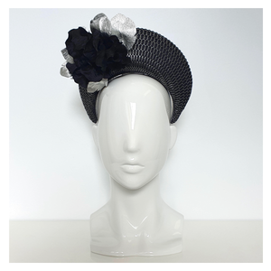 Blossom Halo - Black and Silver