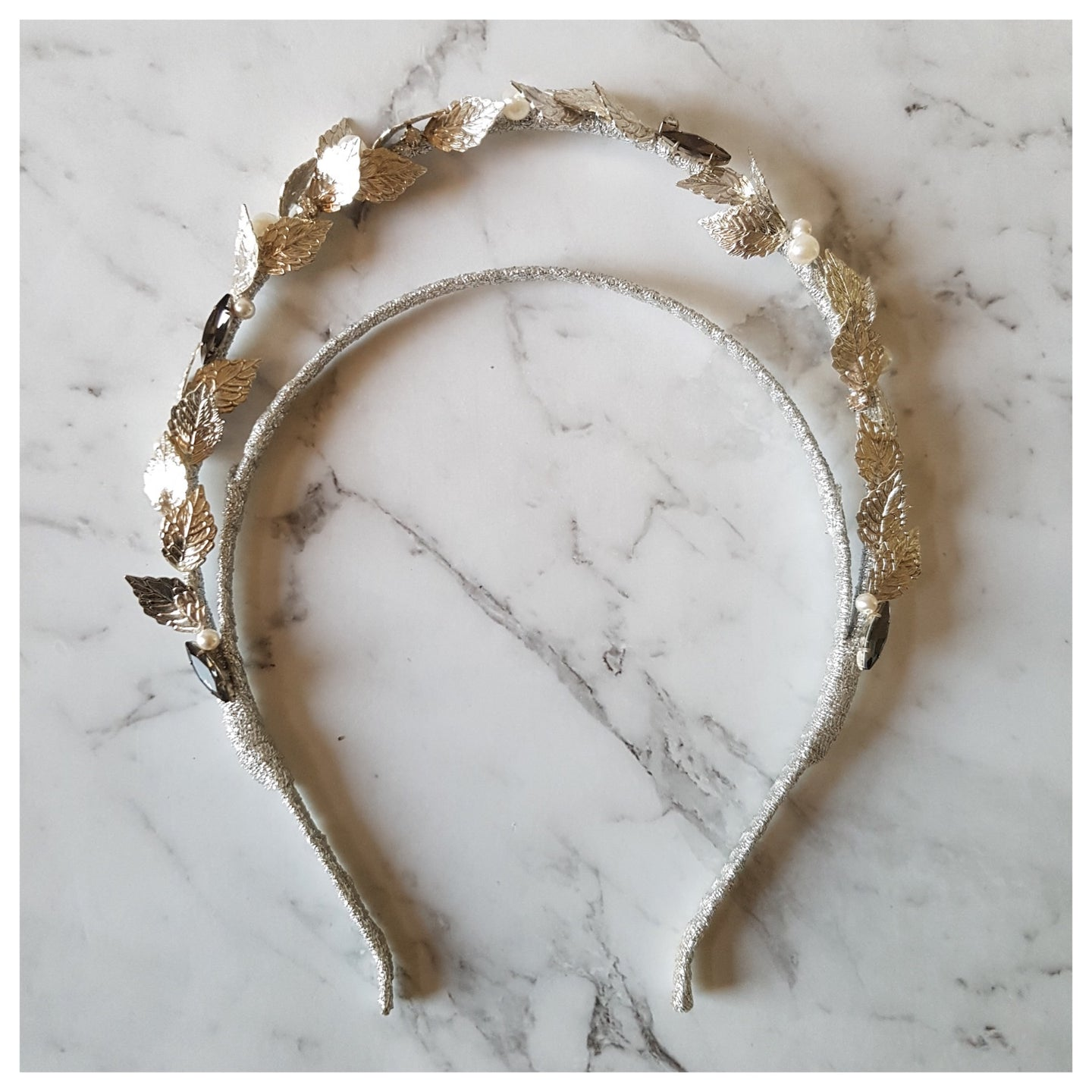 Laurel - Silver Headband