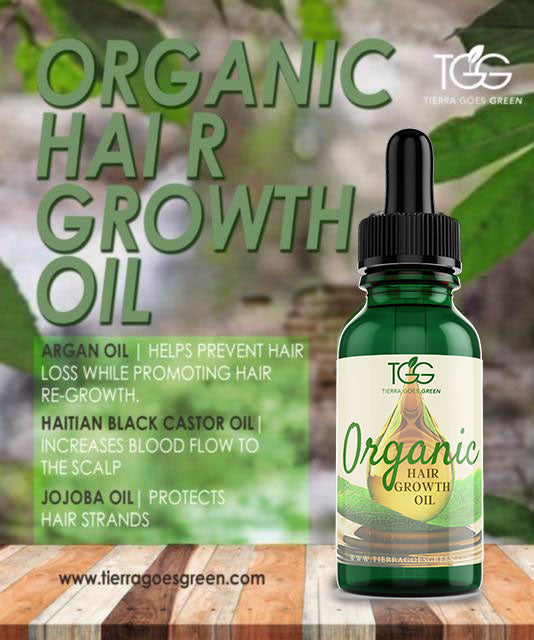 TGG Organic Hair Growth Oil: BUNDLE