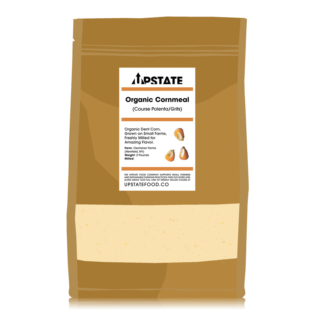 Organic Stoneground Cornmeal
