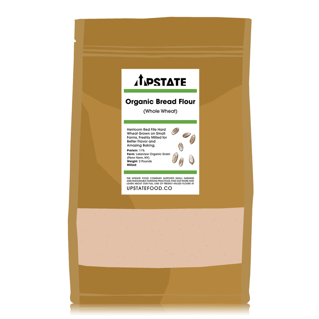 Organic Bread Flour (Whole Wheat)