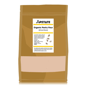 Organic Pastry Flour (Whole Wheat)