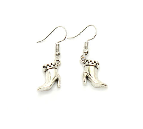 Fashion Trendy Flip Flop Dangle Earrings For Women / AZAEFF005-ASL