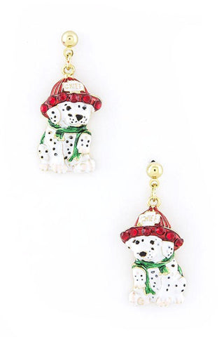 Chief dog earrings
