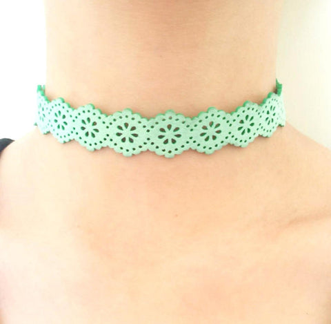 Fashion Gothic Victorian Lace Collar Necklace for Women