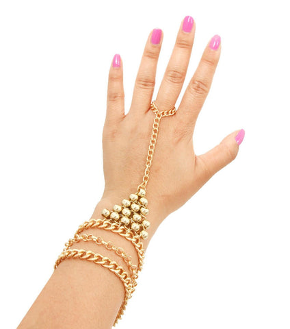 Fashion Beads Hand Chain for Women