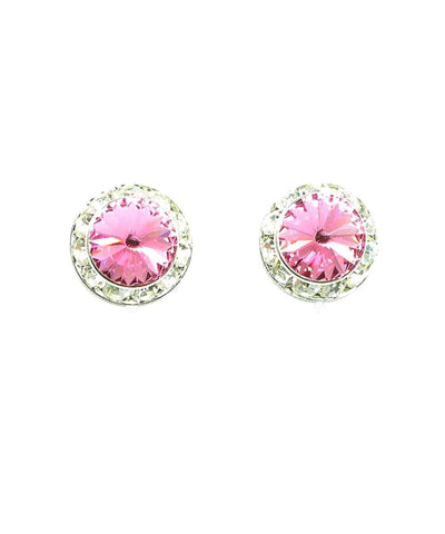 Valentine/Rhinestone Heart Earrings for Women