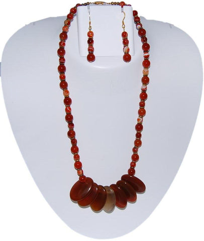 AAREN Semi Precious Jewelry Set