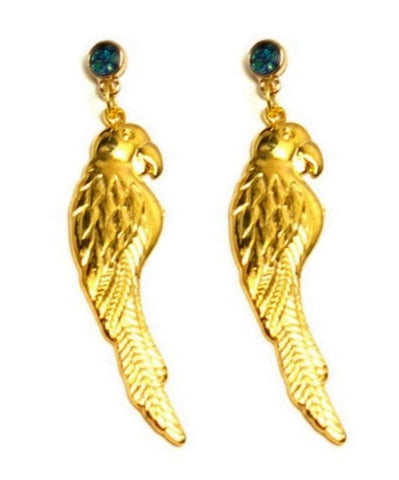 Trendy Fashion Vintage Parrot Dangle Earrings for Women