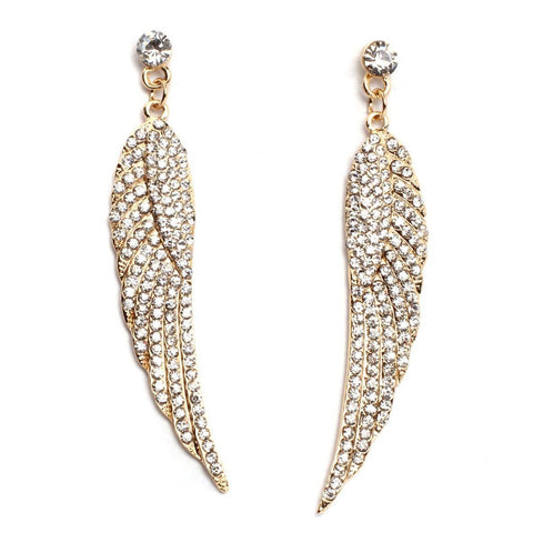 Religious Fashion Angel Wing Earrings for Women
