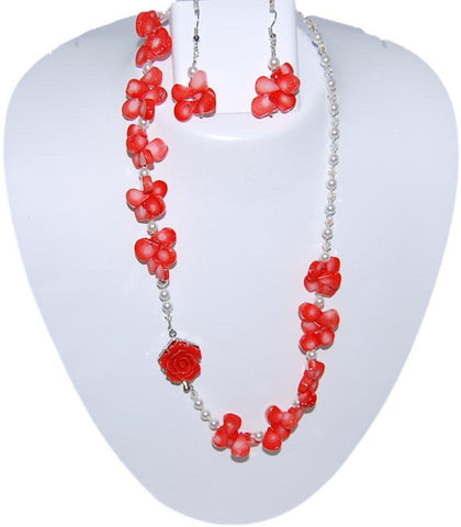 ABAGAEL Semi Precious Jewelry Set