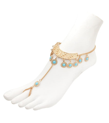 Fashion Trendy Bohemian Foot Chain Anklet For Women