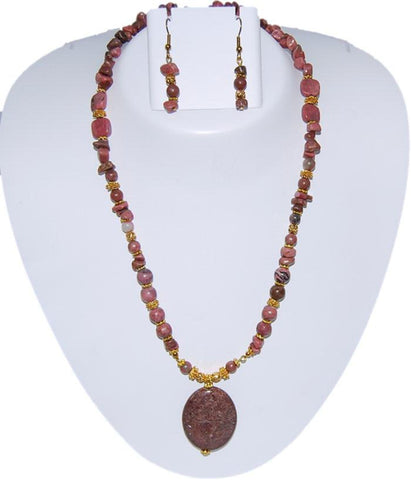 AGAS Semi Precious Jewelry Set