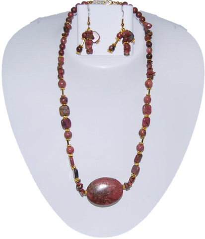 Arras Creations AGATHA Semi Precious Jewelry Set