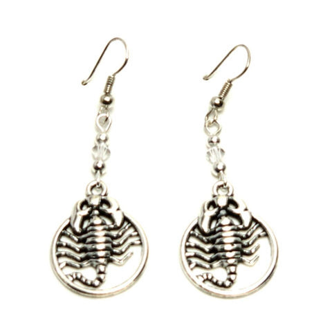 Fashion Trendy Scorpio Dangle Earrings for Women / AZEASC003-ASL