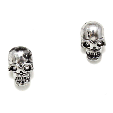 Halloween Skull Stud Earrings / AZERFH350-AHE-HAL