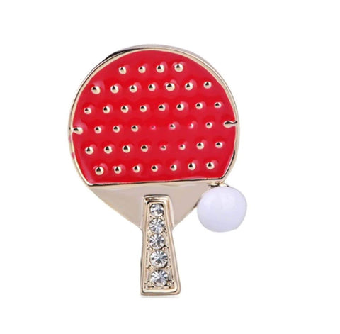 Arras Creations Sports Earring : Fashion Boxing Gloves Shape Brooch-Pin for Women or Men / AZFJBRA15-GRD