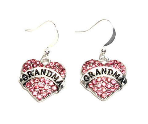 "Fashion Trendy Mother - Mother's Day Love""GRANDMA"" Earrings For Women"
