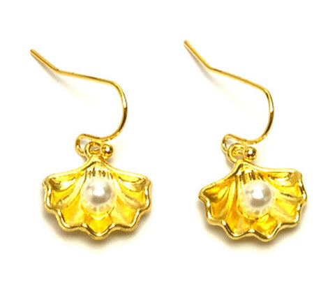 Sea Life Fashion Shell Dangle Earrings for Women