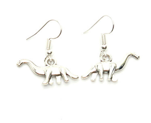 Trendy Unique Fashion Dinosaur Dangle Drop Earrings For Women / AZAEAL001-ASL