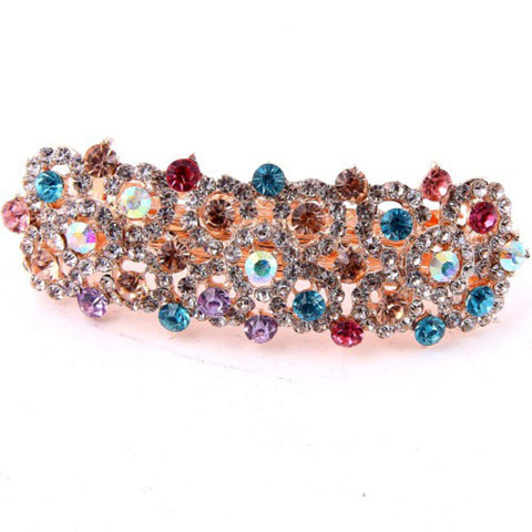 Crystal BUBBLE Pave Hair Clip