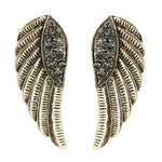Religious Fashion Angel Wing Earrings for Women / AZERAWA02