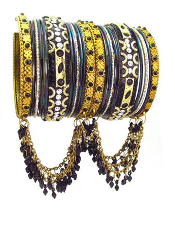Fashion Bollywood Style Indian Metal Bangles for Women