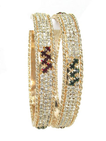 Exclusive Designer Stone Set Kada Set Bangle