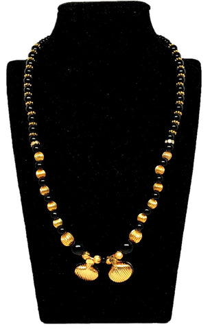 Arras Creations Designer Imitation Traditional Vati Mangalsutra Necklace for Women / AZMNVM009-GLD