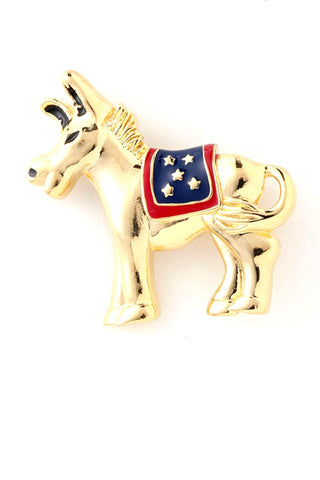 Political Donkey Pins - Brooch