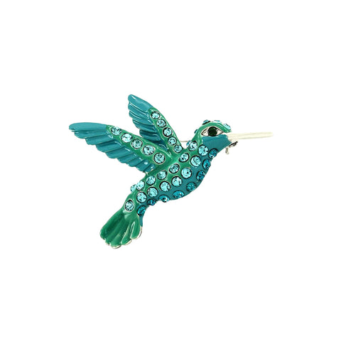Bird Pin - Brooch/pin / AZFJBR697-SBL