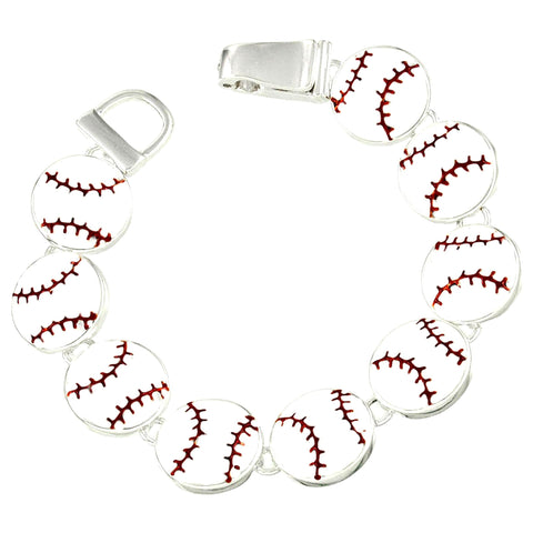 Sport Baseball : Fashion Baseball Bracelet For Women