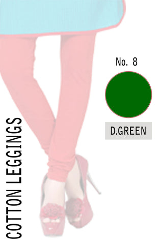 Cotton Leggings D.Green CL08
