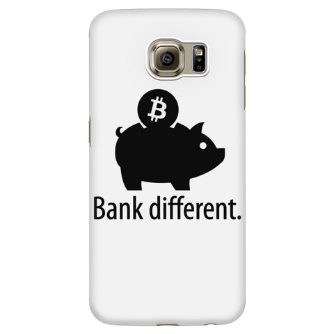 Phone Cases - Bank Different - Bitcoin Phone Case