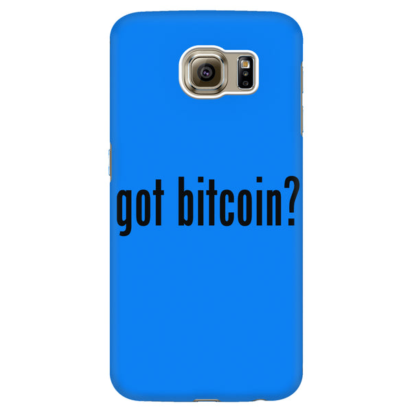 'Got Bitcoin?' Phone Case