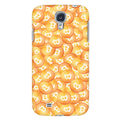 Phone Cases - Scattered Bitcoins Phone Case
