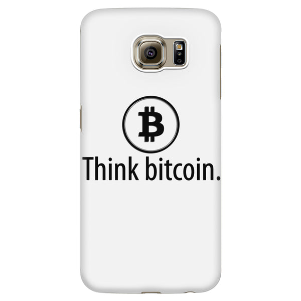 'Think Bitcoin' Phone Case