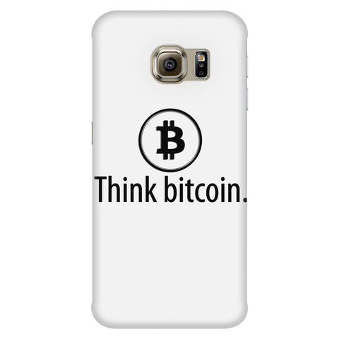 Phone Cases - 'Think Bitcoin' Phone Case