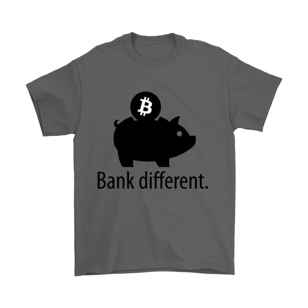 'Bank Different' Premium Bitcoin T-Shirt