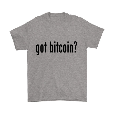 T-shirt - 'Got Bitcoin' Premium T-Shirt