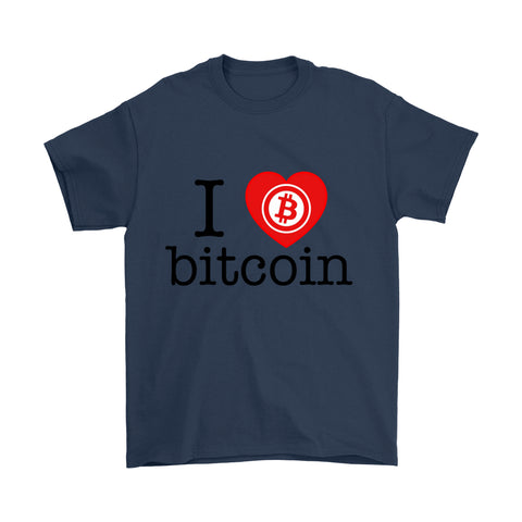 T-shirt - I Love Bitcoin - Premium T-shirt