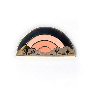 Desert Sundown Enamel Pin