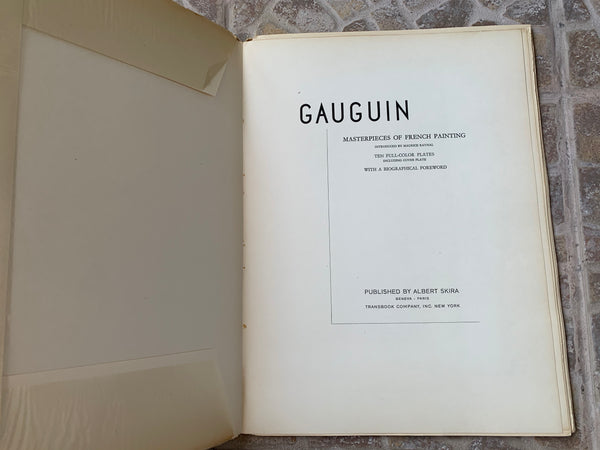 "Vintage Skira ""Gauguin: Masterpieces of French Painting"" Art-Book"
