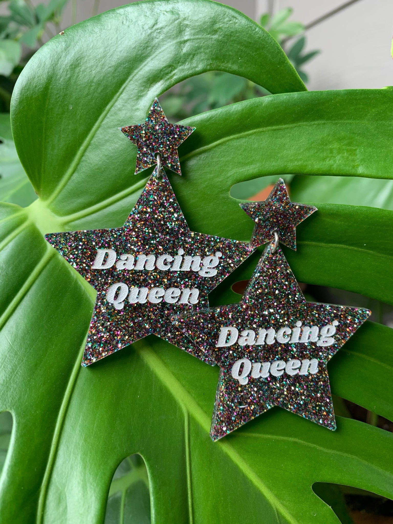 Dancing Queen Star Earrings