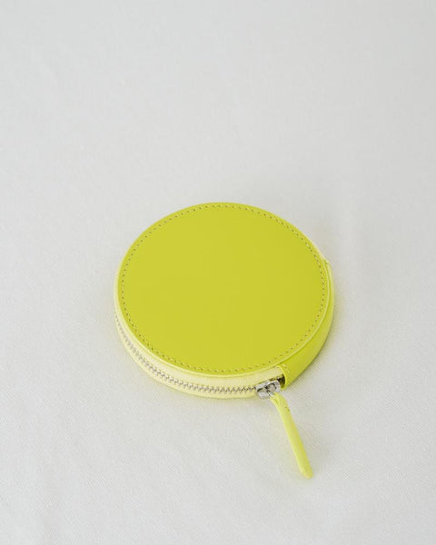 Circle Wallet - Chartreuse